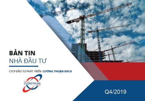BẢN TIN NHÀ ĐẦU TƯ QUÝ IV/2019