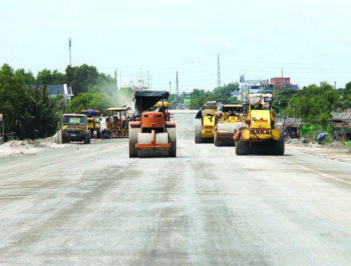 Đường 319 kết nối cao tốc Long Thành tăng tốc về đích