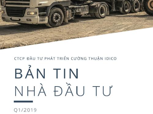 BẢN TIN NHÀ ĐẦU TƯ QUÝ I/2019