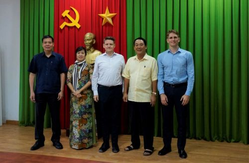 Cường Thuận IDICO tiếp đón Công ty Quản lý Quỹ của Phần Lan Terra Nova Capital
